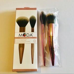 MŌDA® Limited Edition 2pc Powder & Soft Glow Kit